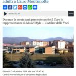 Savona News, giovedì 15 dicembre 2016