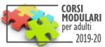 Corsi modulare 2019-20